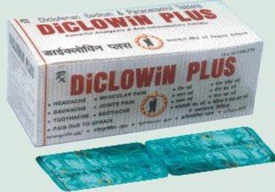 Diclowin Plus Tablets in  Udyog Nagar - Rohtak Road