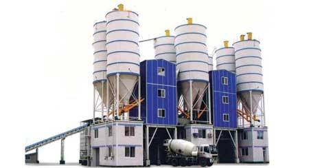 Automatic Concrete Batching & Mixing Plant