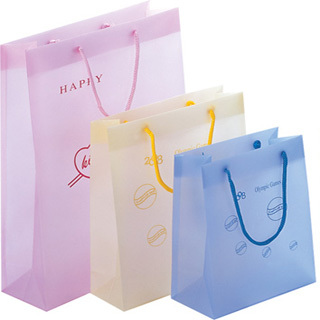 Plastic Shopping Bag in Industrial Avenue South, Guangzhou -