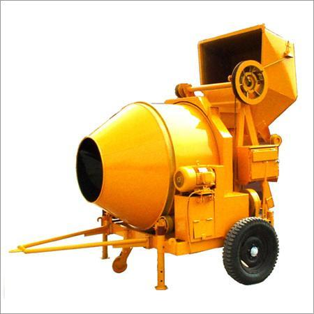 Reverse Drum Concrete Mixer