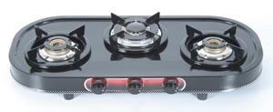 Elegant Three Burner Gas Stove