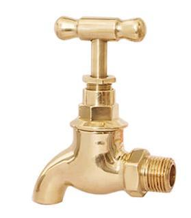 Brass Screw Down Bib Tap