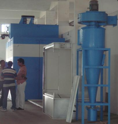 Powder Coating Plant