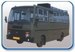 Army Mini Bus Body