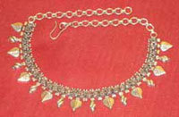 Sterling Silver Necklace in  Johari Bazar