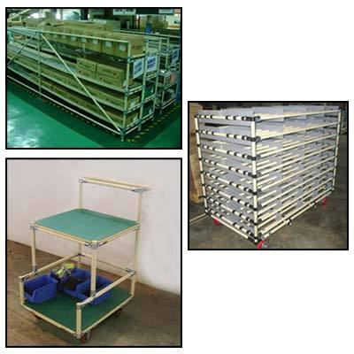 Pipe Joint Racking System