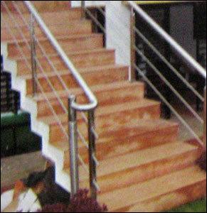 Modular Stainless Steel Railings in   B/H. S.T. WORKSHOP