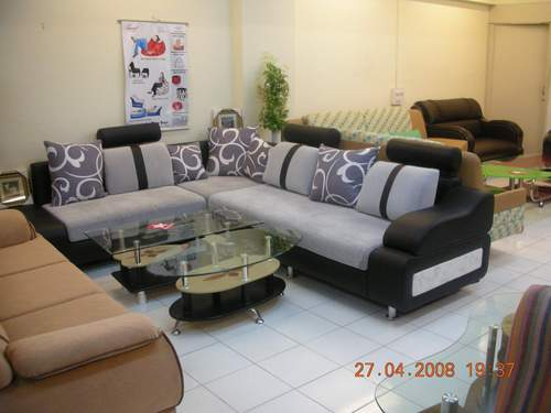 Corner sofa set in naroda road ahmedabad hemtush Sofa set india