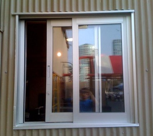 Aluminium sliding window in nanhai district foshan for Nigeria window design