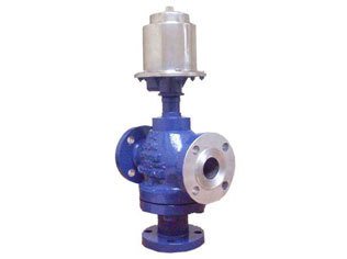globe 3 way diaphragm operated control valve in thane