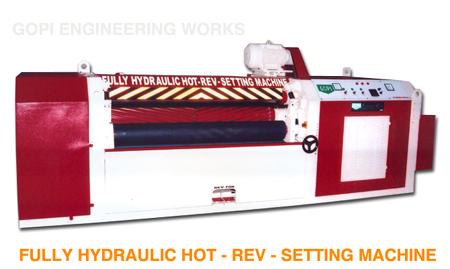 Fully Hydraulic Hot Reversible Setting Machine
