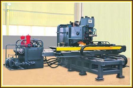 CNC Hydraulic Punching Machine For Plates