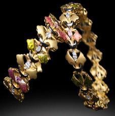 Elegant Gold Bangles in   RAM MOHAN ROAD