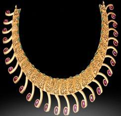 Fancy Gold Necklace in   RAM MOHAN ROAD