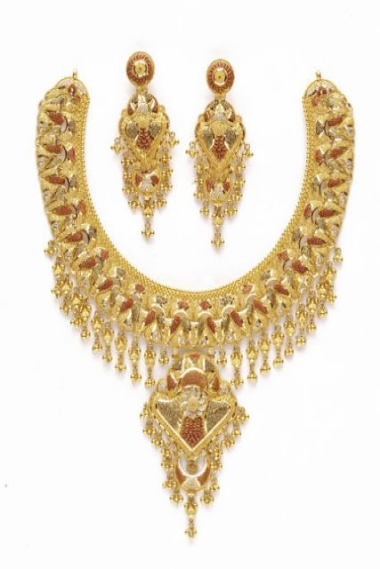 Bridal Gold Necklace in South Extn. - I, New Delhi - Manufacturer