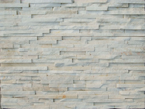 Cultured Stone Walls : White cultured stone ledge wall in quanzhou fujian