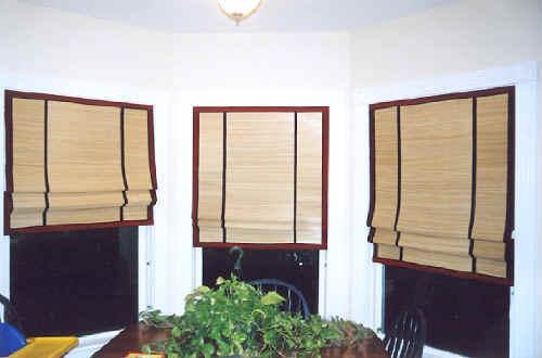 Designer Bamboo Blinds