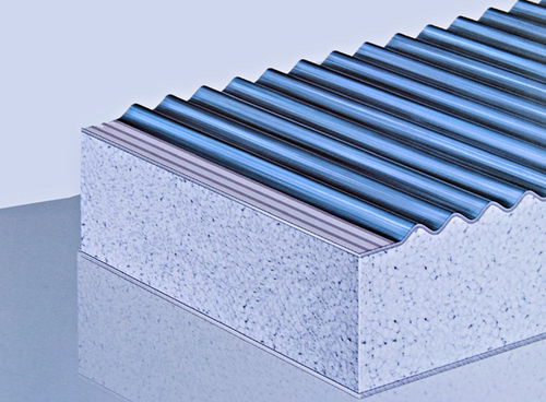 Eps Insulation Panels : Eps sandwich panel manufacturers suppliers exporters