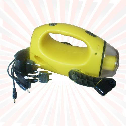Led Torch (With Manual Charger)