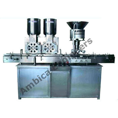 High Speed Injectable Powder Filling Machine