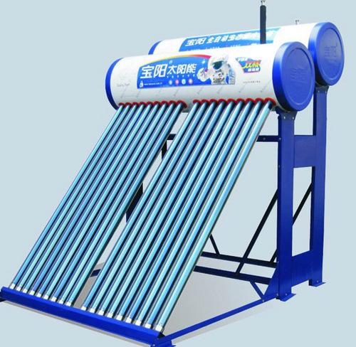 Double Tank Solar Water Heater
