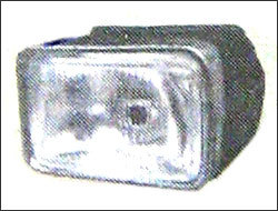 Bikes Rectangular Shape Head Light in  5-Sector - Bawana
