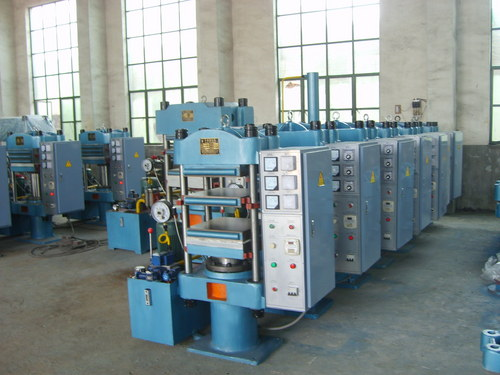 Plate Vulcanizer Machine (Column)