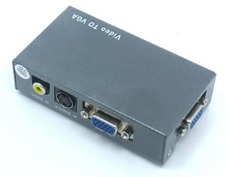 AV Video S-video To VGA Converter in   Futian