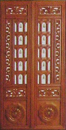 Swagath pooja doors in residency road bengaluru arya bhangy for Pooja room entrance door designs