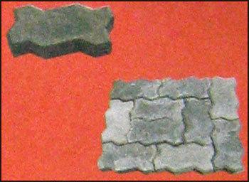 Zig-Zag Concrete Paver Blocks