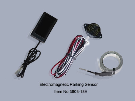 Electromagnetic Parking Sensor System With Sound