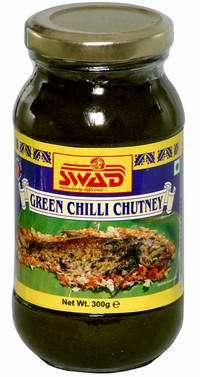 Green Chilli Chutney
