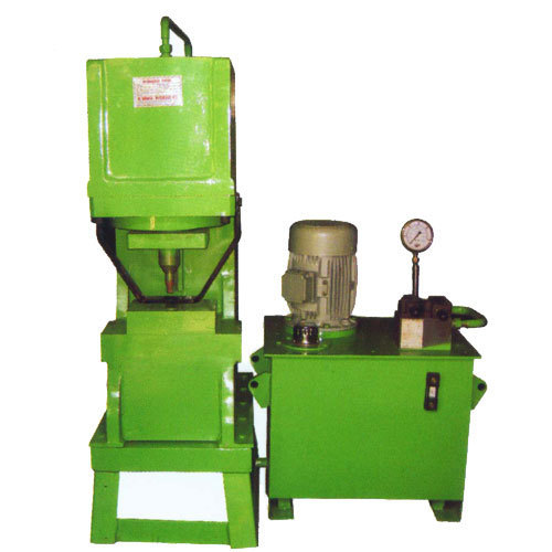 Hydraulic Punching & Number Machine