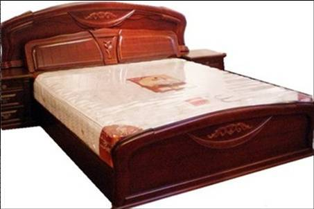 Cool Wood Bed With Wood Bed