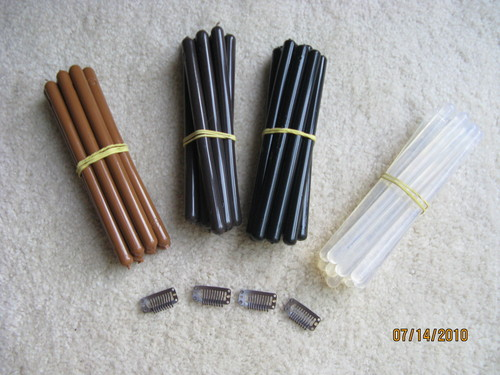 Keratin Sticks & Clips
