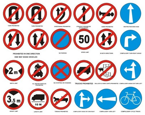 TRAFFIC SIGNS in  Hsr Layout