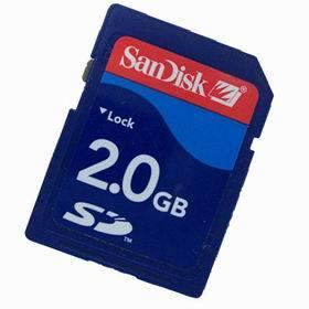 2GB San Disk SD Card 2G Memory Card