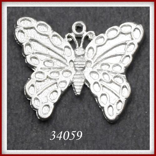 Butterfly Shape Metal Pendants