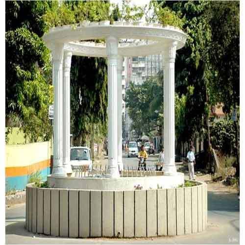 GRC Gazebo & Lamp Post