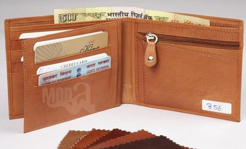 Brown Leather Wallets in  Chamelian Road