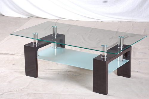 Glass Wood Coffee Table In Bazhou