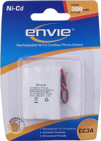 Cordless 3 X Aaa 300 Batteries