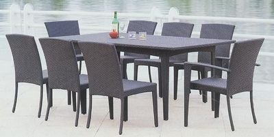 Pe Rattan Tables And Chair