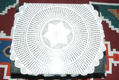 Crochet Table Tops
