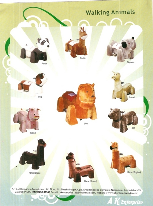 BATTERY OPERATED WALKING ANIMALS in  Gota