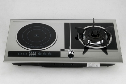 Induction Cooker+Gas Cooker