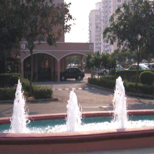 Interactive Outdoor Fountains
