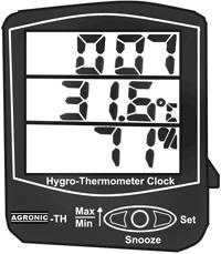 Temperature Cum Humidity Meters in  Grant Road