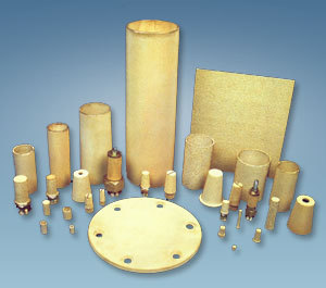 Sintered Bronze Filter Element