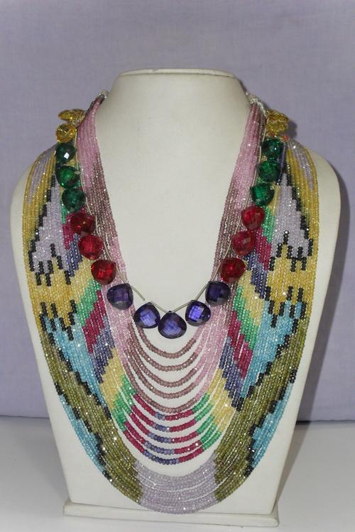 Cubic Zirconia Fancy Beads Shapes